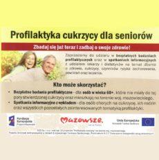 Profilaktyka cukrzycy dla seniorów